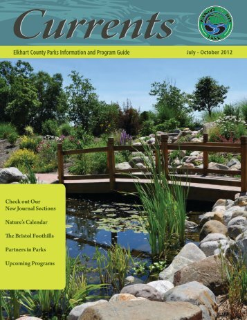 July – October 2012 Elkhart County Parks Information And