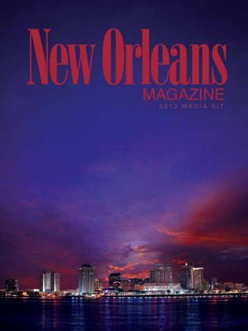 New Orleans - City and Regional Magazine Association