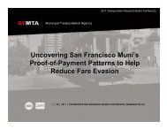 Lee, J., Uncovering SF Muni's PoP Patterns to Help Reduce Fare ...