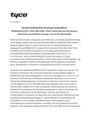 INTERSCHUTZ 2010 - TOTAL WALTHER GmbH