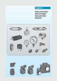 Vakuumschalter Vakuumregler Vakuummeter Zubehör Kapitel 5
