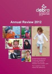 Annual Review 2012 - DebRA