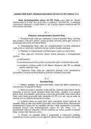 JEDNACÍ ŘÁD RADY PRACOVIŠTĚ - Akademie věd ČR