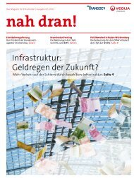 nah dran! - Ausgabe 2/2011 - Veolia Verkehr