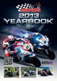 2013 MCRCB Yearbook - MotorSport Vision Racing