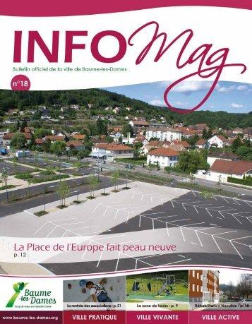 Info Mag n°18 - Baume-les-Dames