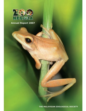 Annual Report- 2007 - Zoo Negara