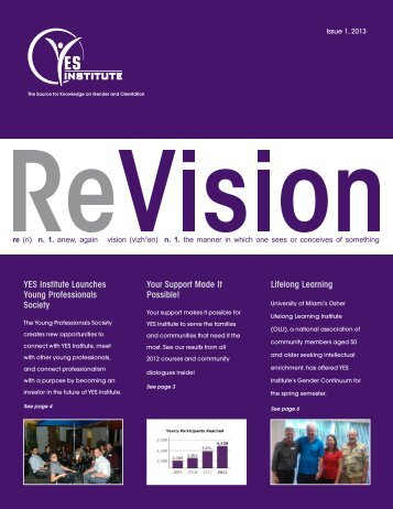 online version of ReVision here - the YES Institute