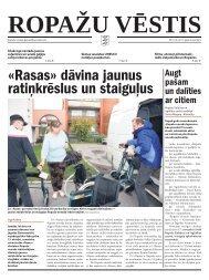 «Rasas» dāvina jaunus ratiņkrēslus un staiguļus - Ropaži.lv