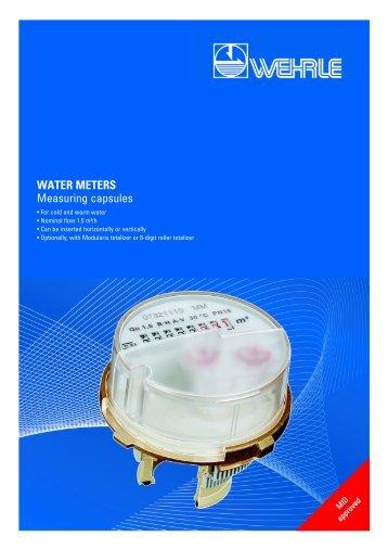 water meters - Wehrle