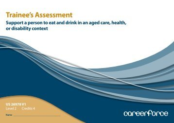 Trainee's Assessment - Careerforce