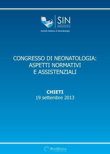 CONGRESSO DI NEONATOLOGIA: ASPETTI NORMATIVI E ...