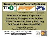 Full-Depth Reclamation using Cement - American Concrete ...