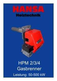 Serie HPM 2 - Hansa Brenner