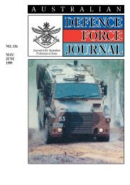 ISSUE 136 : May/Jun - 1999 - Australian Defence Force Journal