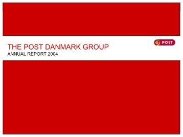 POST DANMARK KONCERNEN - CEP Research