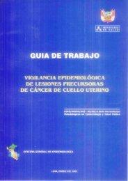 GUIA DE TRABAJO - BVS Minsa - Ministerio de Salud