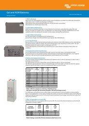 Gel and AGM Batteries - Solarni paneli   Sole