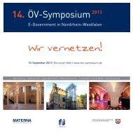 14. ÖV-Symposium2013 - Oev-symposium.de