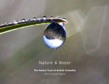 2012 Annual Report - Nature Trust of British Columbia