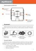 Manuale d'uso - Xplova - Page 7