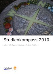 Studienkompass 2010 - Universität Paderborn