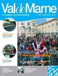 ValdeMarne n°250 / Septembre 2008 - Conseil général du Val-de ...