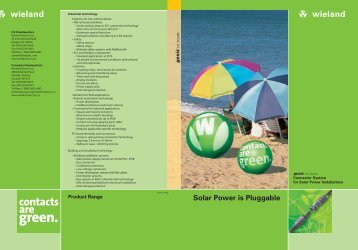 Solar Power is Pluggable - Elektronix