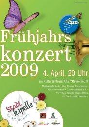 2009 4. April, 20 Uhr - Gmunden