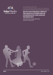 Government Decision-Makers' Perceptions of ... - AudienceScapes