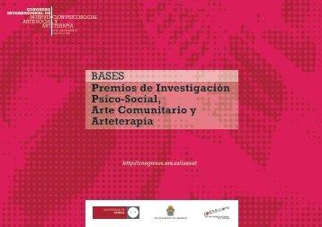 Premios de Investigación Psico-Social, Arte Comunitario y ...