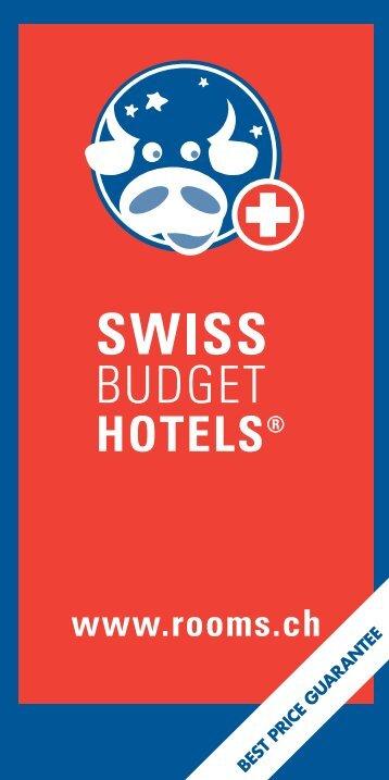 Komplettes Hotelverzeichnis der Schweiz - Blog von Â«Swiss Budget ...