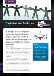 Private cloud fixes Achilles' heel - Softcat