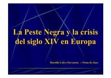 L P t N l ii La Peste Negra y la crisis d l i l XIV E del siglo ... - Cash flow