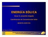 energía eólica - C.I.E. - Universidad Nacional Autónoma de México