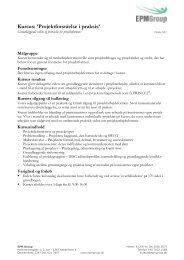Detaljeret beskrivelse PDF - EPM Group