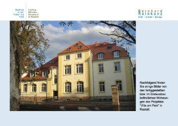 """Bilder zum Objekt """"Villa am Park"""" - Bernhard Reinkunz GmbH"""