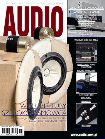 Audio, marzec 2012 - UlubionyKiosk