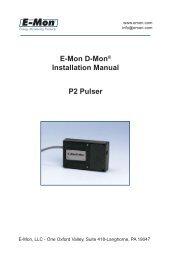 P2 Pulser manual 6_08..indd - E-Mon