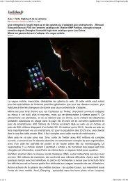 Asie : l'actu high-tech de la semaine, Actualités - L'Atelier