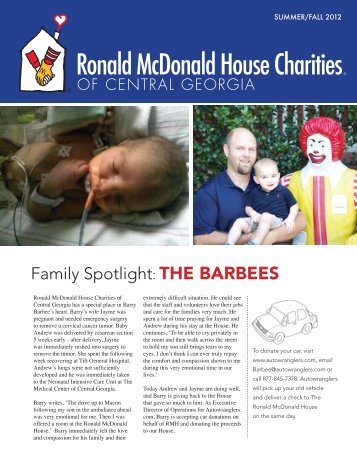24, 2013 Race Day - Ronald McDonald House Charities of Central ...