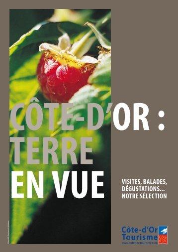 Je veux organiser un circuit en Côte-d'Or 2012 - Bourgogne tourisme