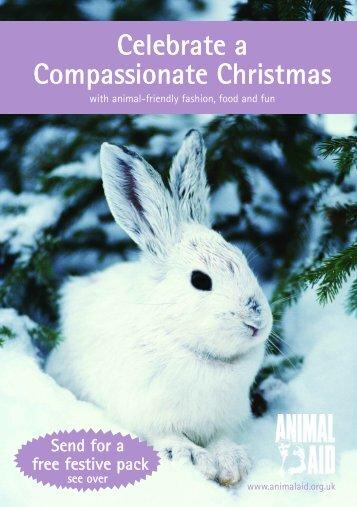 Compassionate Christmas - Animal Aid