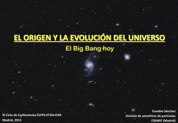 El Big Bang hoy - Particle Physics at CIEMAT