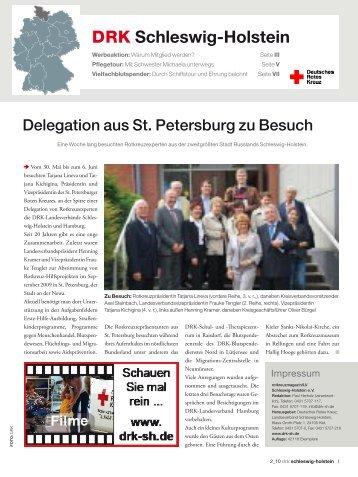 Ausgabe 3 / 2010 - DRK - Ortsverein Reinbek e.V.