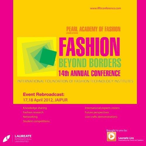 brochure_IFFTI Annual Conference - My Laureate