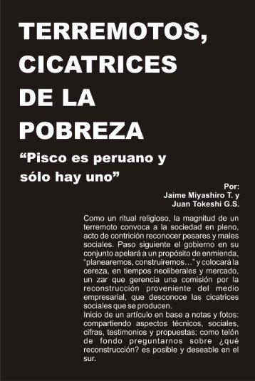 DE LA POBREZA - Construyendo nuestra Interculturalidad