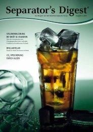 Separator's Digest 2011/1 - GEA Westfalia Separator Group