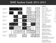 The BME Student Guide - Department of Biomedical Engineering