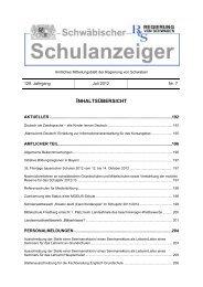 Wochenschau Verlag - Regierung von Schwaben - Bayern